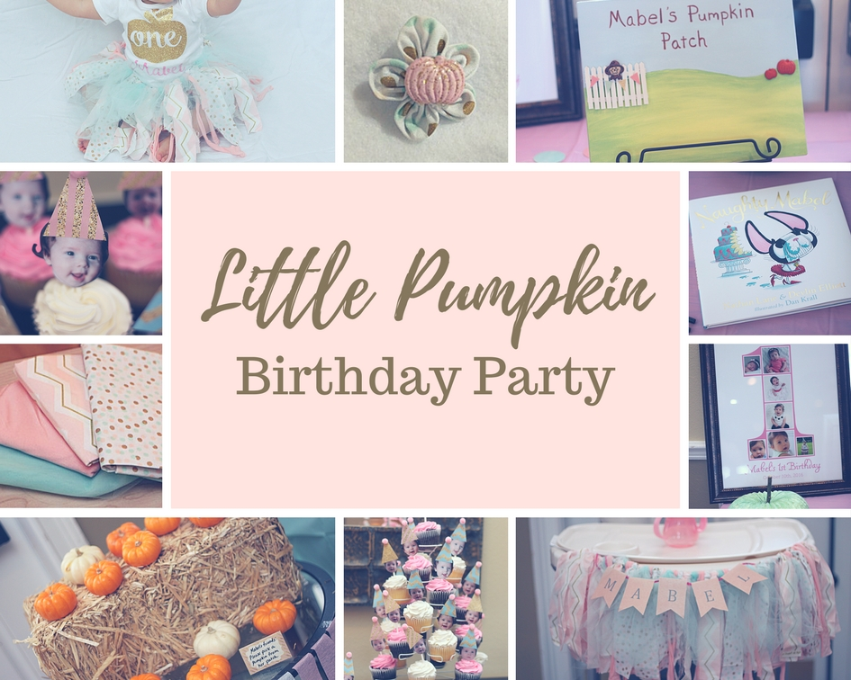 Little Pumpkin themed birthday party