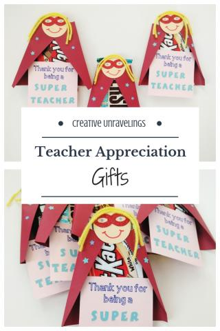 Teacher Appreiciation gifts