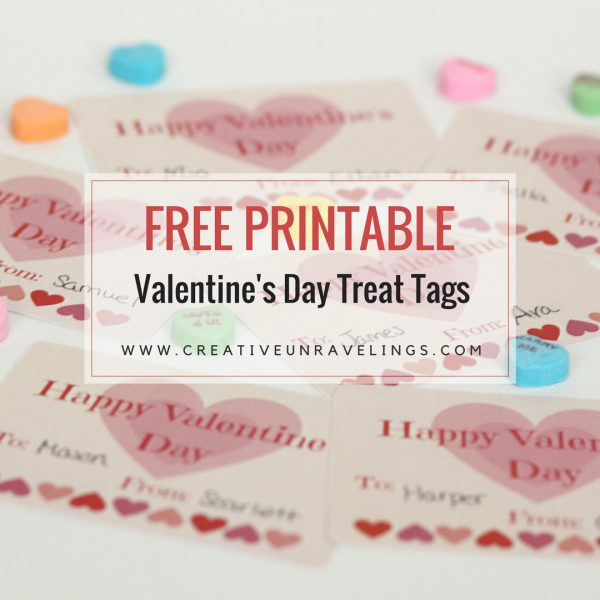 FREE PRINTABLE Valentine's Day Treat Tags(1)